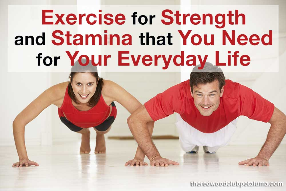Exercise for Strength and Stamina That You Need for Your Everyday Life